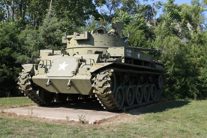 Tanks and other war artifacts dating back to the War of 1812 can be found at the Northcoast Veterans Museum.
