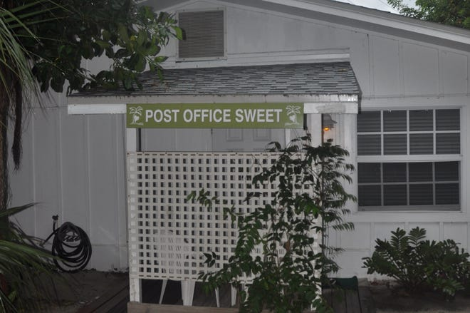 Post Office Sweet is one of two rental units that used to be the original post office on Captiva Island.