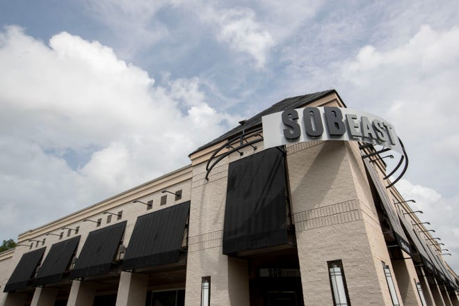 Owners Ed and Brittany Cabigao have converted Interim restaurant at 5040 Sanderlin Ave. into SOB East. It opens Sept. 8.