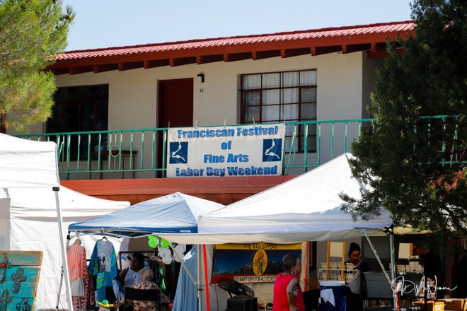 Franciscan Art Festival during Labor Day Weekend 2019.