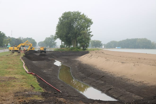 Work on a $1.4 million wetlands restoration project is transforming a large portion of Port Clinton's scenic Lake Erie coast.