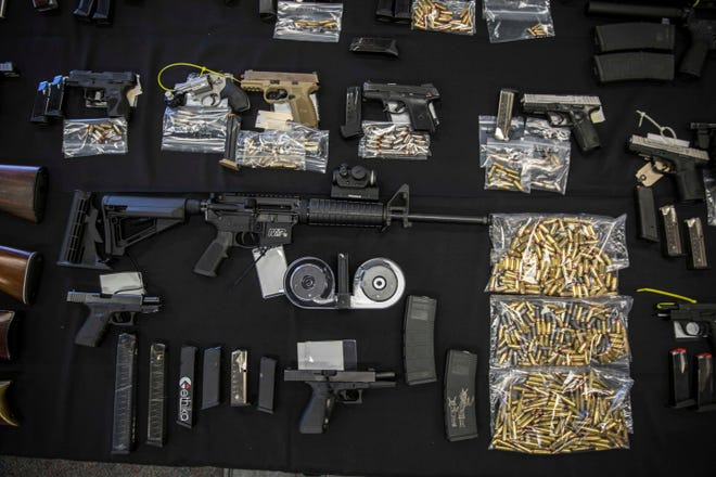 U.S. Customs and Border Protection has seen an increase in guns and ammunition seized during the COVID-19 pandemic.
