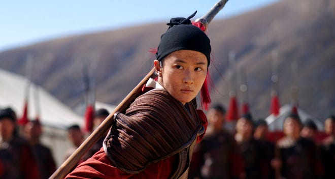"""Yifei Liu stars in """"Mulan,""""  which will be available Friday on Disney+ for a premium fee."""