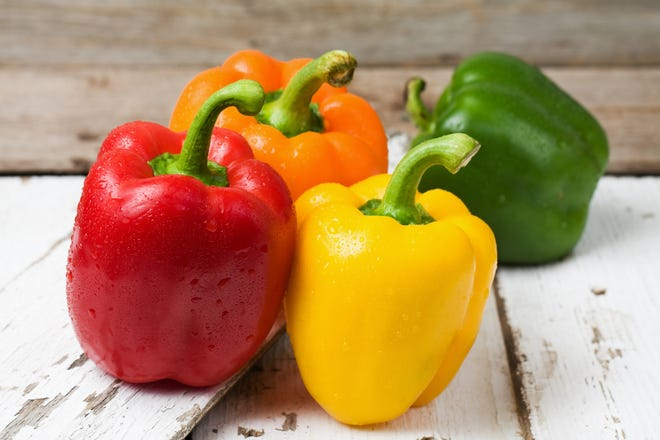 Unlike most other vegetables, do not blanche sweet or hot peppers before freezing.