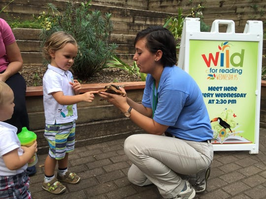 The Greenville Zoo has a variety of programs for youngster