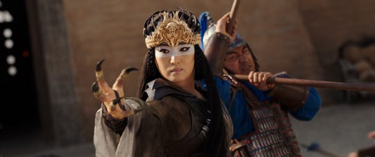 "Xian Lang (Gong Li), a powerful witch, is a new ""Mulan"" character."