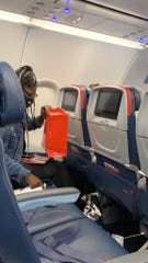 Demetria Poe said Delta Air Lines went above and beyond to rectify the situation by upgrading her seat on her return flight back to Minneapolis.