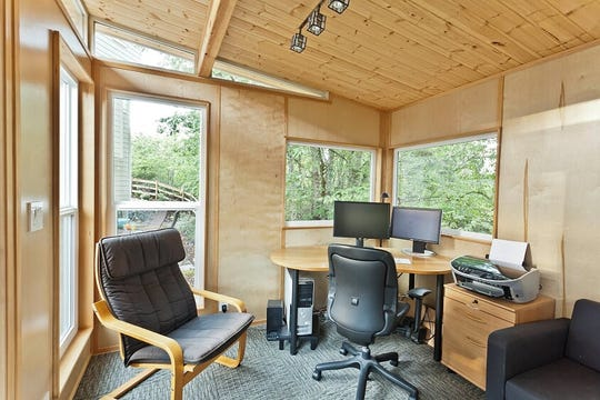 Modern-Shed says more people are converting backyard sheds into home offices.