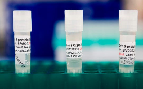Labs are studying potential coronavirus vaccines.