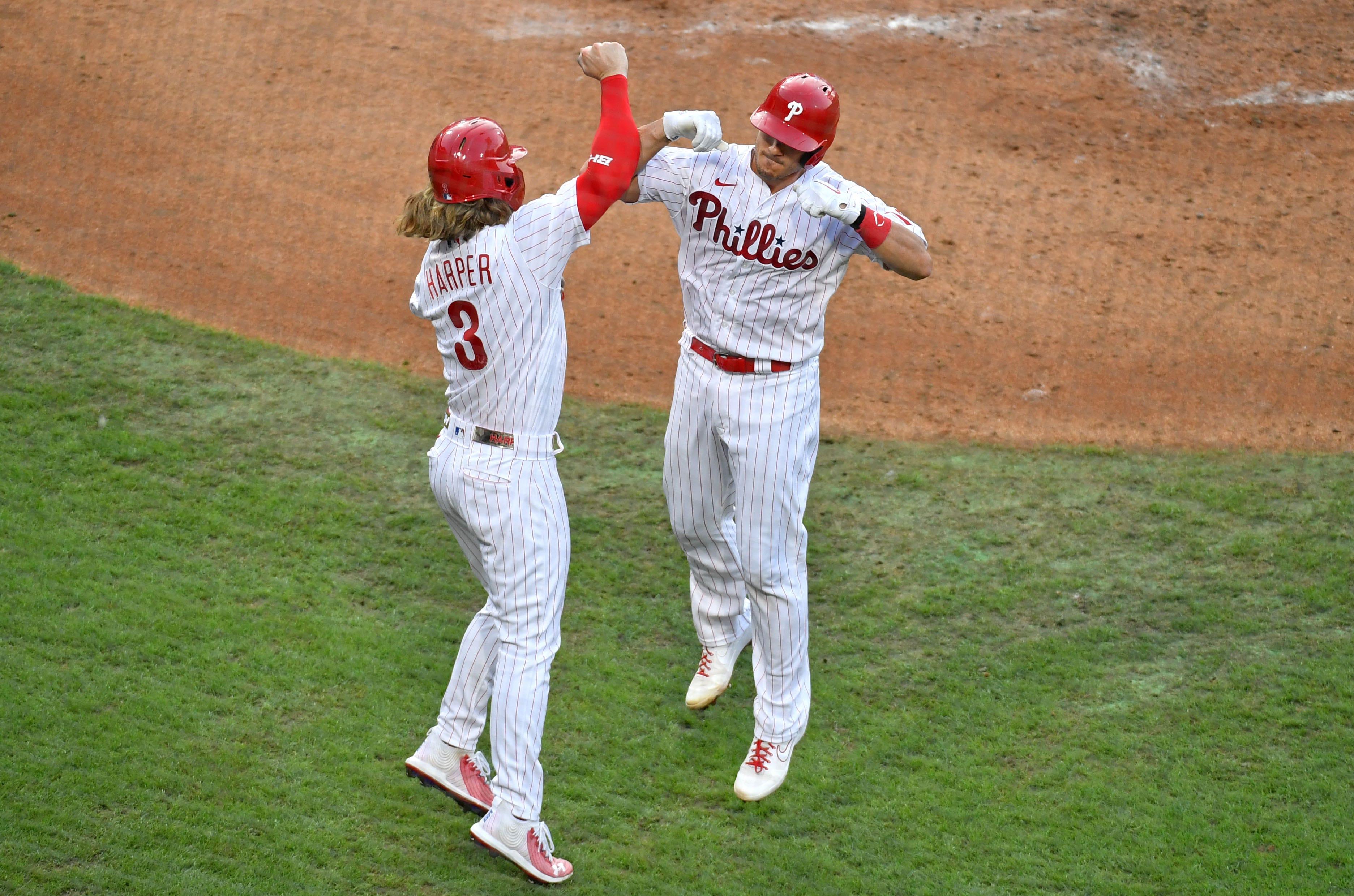 Bryce Harper Phillies New Arrivals Baseball Player Fade Jersey