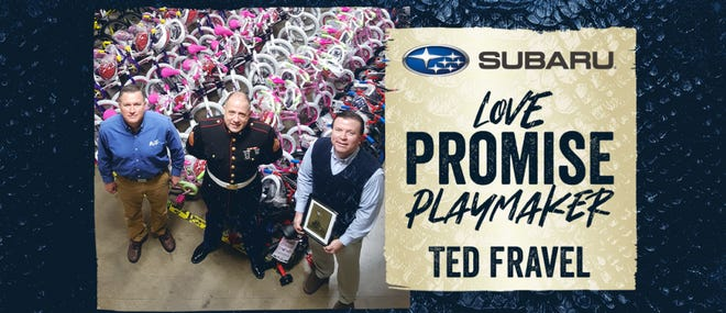 The Philadelphia Union Subaru Love Promise Playmaker of the Day as seen online.