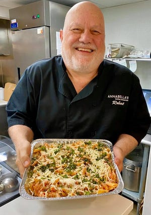 Robert Angelaccio of Annabellas Italian restaurant in Bristol Borough is one of the many restaurateurs supporting the Feeding Bristol Borough campaign.
