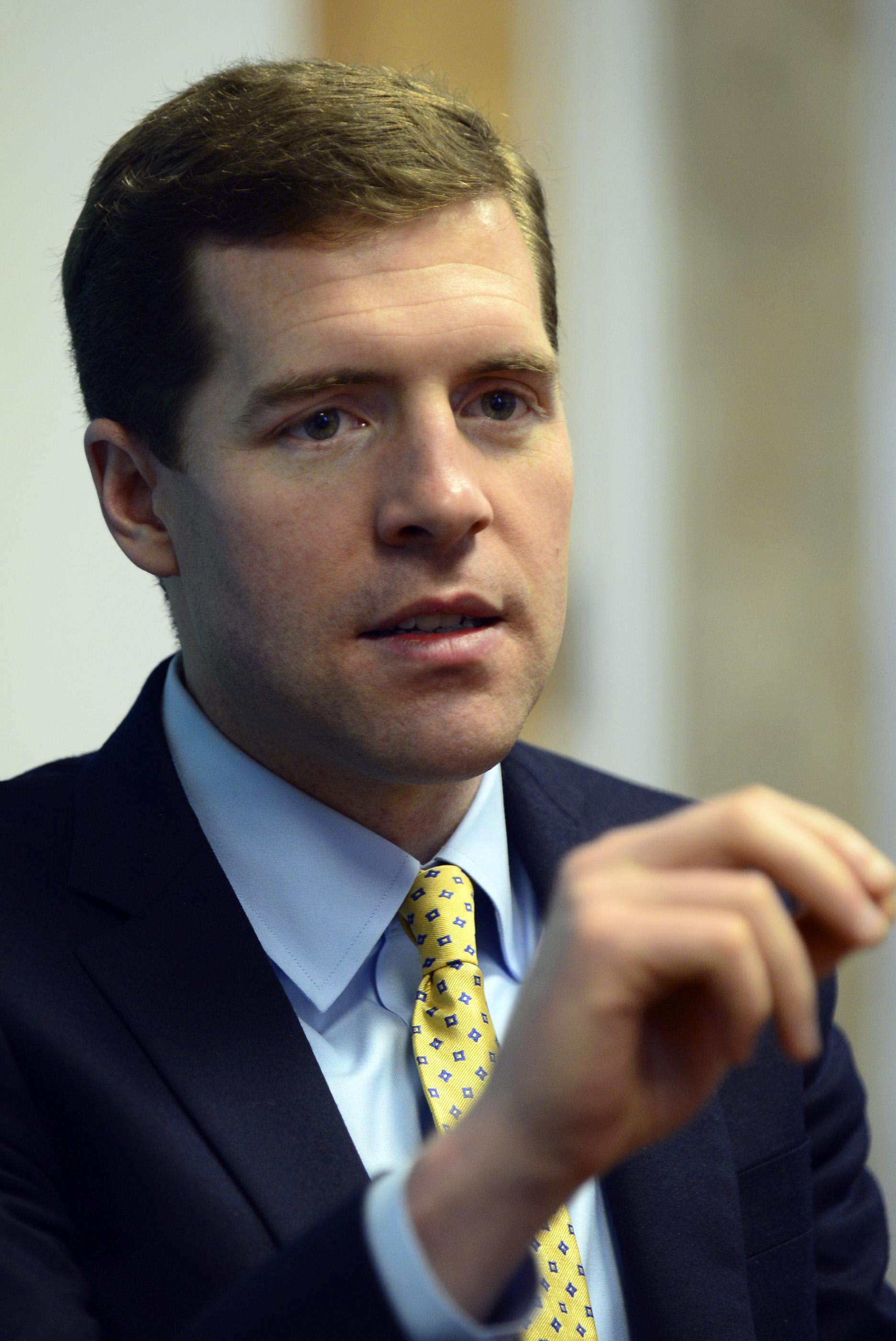 U.S. Rep. Conor Lamb of Allegheny County
