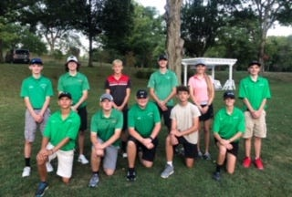 On Aug. 29, the Barnesville alumni exhibition match took place. Alumni scored 154 and Shamrocks had 164. Those taking part on the alumni team include, Tyler Willison, 34; Payne Johnson, 35; Ciara Bauman, 42; and Jim Byler, 43. The Shamrocks team included, Carter Wells, 36; Dryden Bauman, 40; Jude Hannahs, 42; Colton Hines, 46; and Breanna Flood, 47.