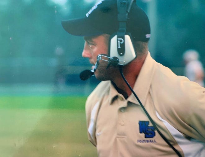New MDCA football coach Mike Kintz, shown during his stint as Winter Springs head coach, is set to lead the Bulldogs into Friday's game against Orlando Faith Christian. [COURTESY]