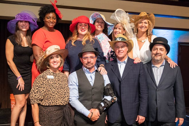 Board members with Nonprofits First, Inc., pose for a photo at last year's Hats Off Nonprofit Awards, which honor local nonprofits for their dedication to service. This year's event will be held Dec. 8.