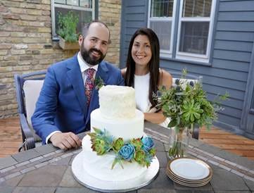 Newlyweds Erin and Ben Cohen were expecting to have their ceremony surrounded by loved ones in her hometown of Coral Springs, but when the pandemic hit, it caused them to nix their travel plans and pivot.