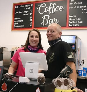 Artisan Collective, a new business at Aurora Farms and Premium Outlets owned by Jessica and Jason Brown, features coffee from The Obvious Coffee Co. from Twinsburg.