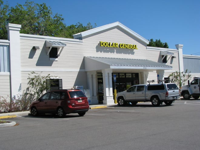 The Dollar General store in Parrish. According to the company, 75% of Americans live within 5 miles of a Dollar General outlet.