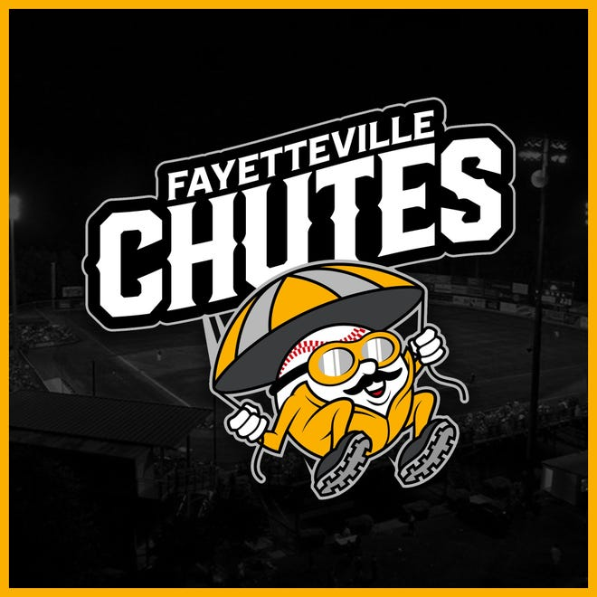 Old North State League's Fayetteville Chutes logo