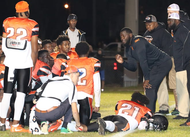 Hawthorne High head football coach Cornelius Ingram has the Hornets ready to kick off season.