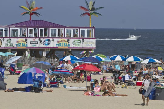 Jenkinson's beach and boardwalk are shown Aug. 25, 2015, in Point Pleasant Beach.