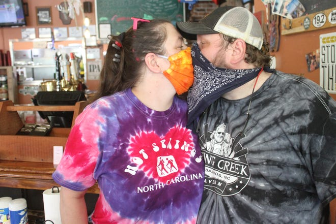 Amanda and Tim Arnett have owned the Spring Creek Tavern for six years.