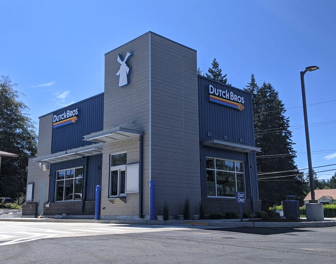 A Dutch Bros Coffee drive-thru stand will open Sept. 4, 2020, on Bethel Road in Port Orchard