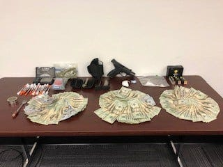 A Cape Coral man is facing multiple drug and weapons charges that stem from a July 24th incident in the Pine Manor area of Fort Myers. Lee County deputies found a loaded gun, drugs and cash in Lawrence Puca's truck when they stopped the vehicle, described as suspicious.