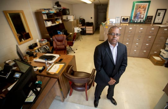 Marvin Davis is the owner of Fred L. Davis Insurance Agency. Photographed Thursday, Sept. 3, 2020, at his office in Memphis.