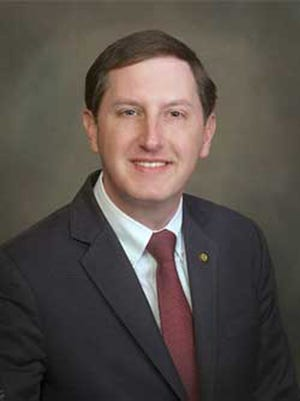 Clay Scofield (R), Marshall County, was elected in 2010 to the Alabama Senate representing District 9.