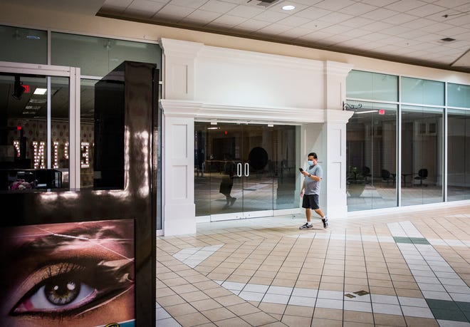 The Muncie Mall Thursday, Sept. 3, 2020. Ball State plans to rent out a section of the mall for an urban planning class.