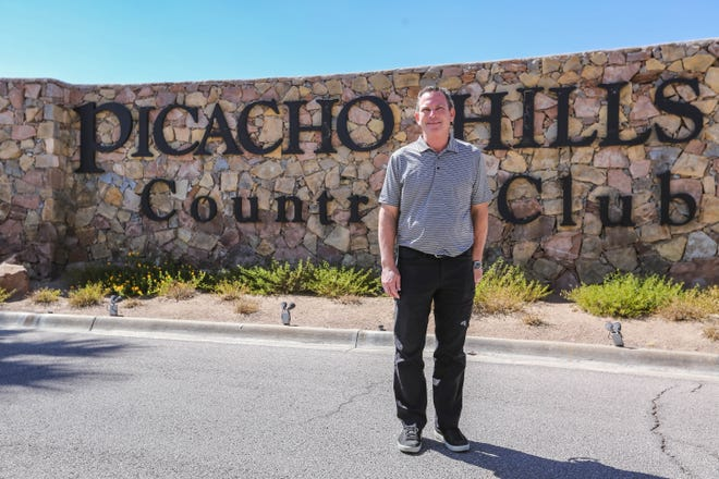 Todd Barranger, a partner in Spirit Golf Management Southwest, along with Richard Holcomb, finalized the sale of Picacho Hills Country Club this month. Barranger is pictured at the club just west of Las Cruces on Thursday, Sept. 3, 2020.