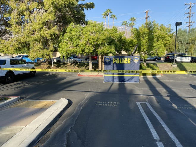 Palm Springs police announced that a dead body was found near Palm Springs City Hall on Sept. 3, 2020.