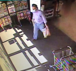 Police arrested a man suspected of leaving a Flagstaff market with a woman's baby in shopping cart.