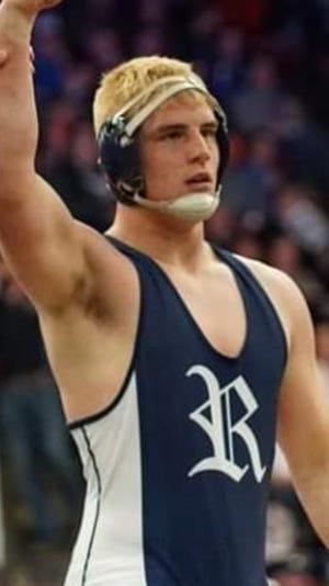 Richmond senior wrestler Dan McKiernan verbally committed to Southern Illinois University Edwardsville on Tuesday, Sept. 1, 2020.