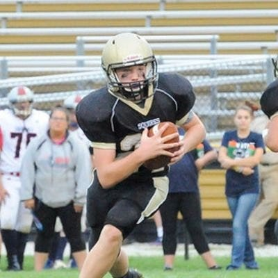 Tate Neiderer is a returning standout for the Delone Catholic High School football team.