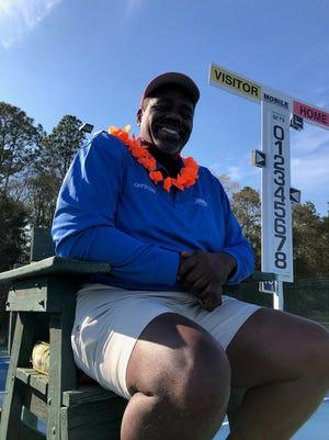 Shreveport-based tennis referee Erroll Sims passed away Wednesday.