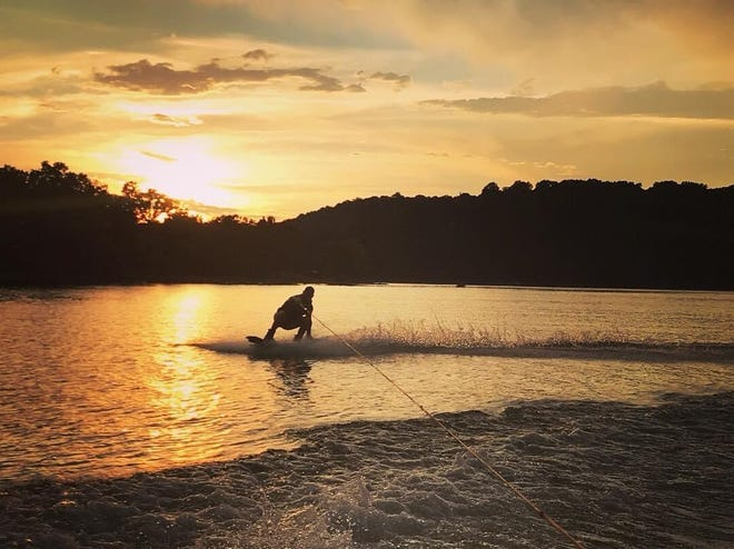 Wakeboarding is a popular activity at Table Rock Lake. The weather looks perfect for it this Labor Day weekend.