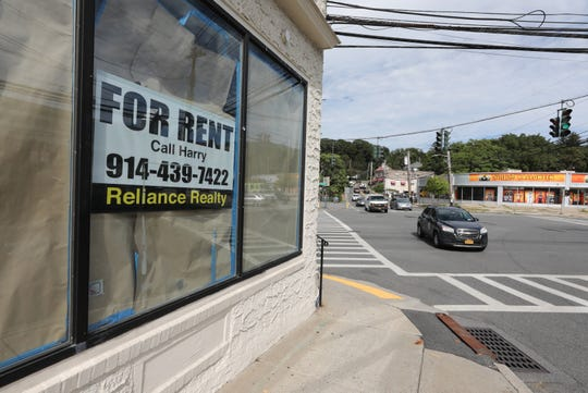 There are storefront vacancies on each block of the four corners in Hartsdale, like this former jewelry store on East Hartsdale Avenue, Sept. 3, 2020.