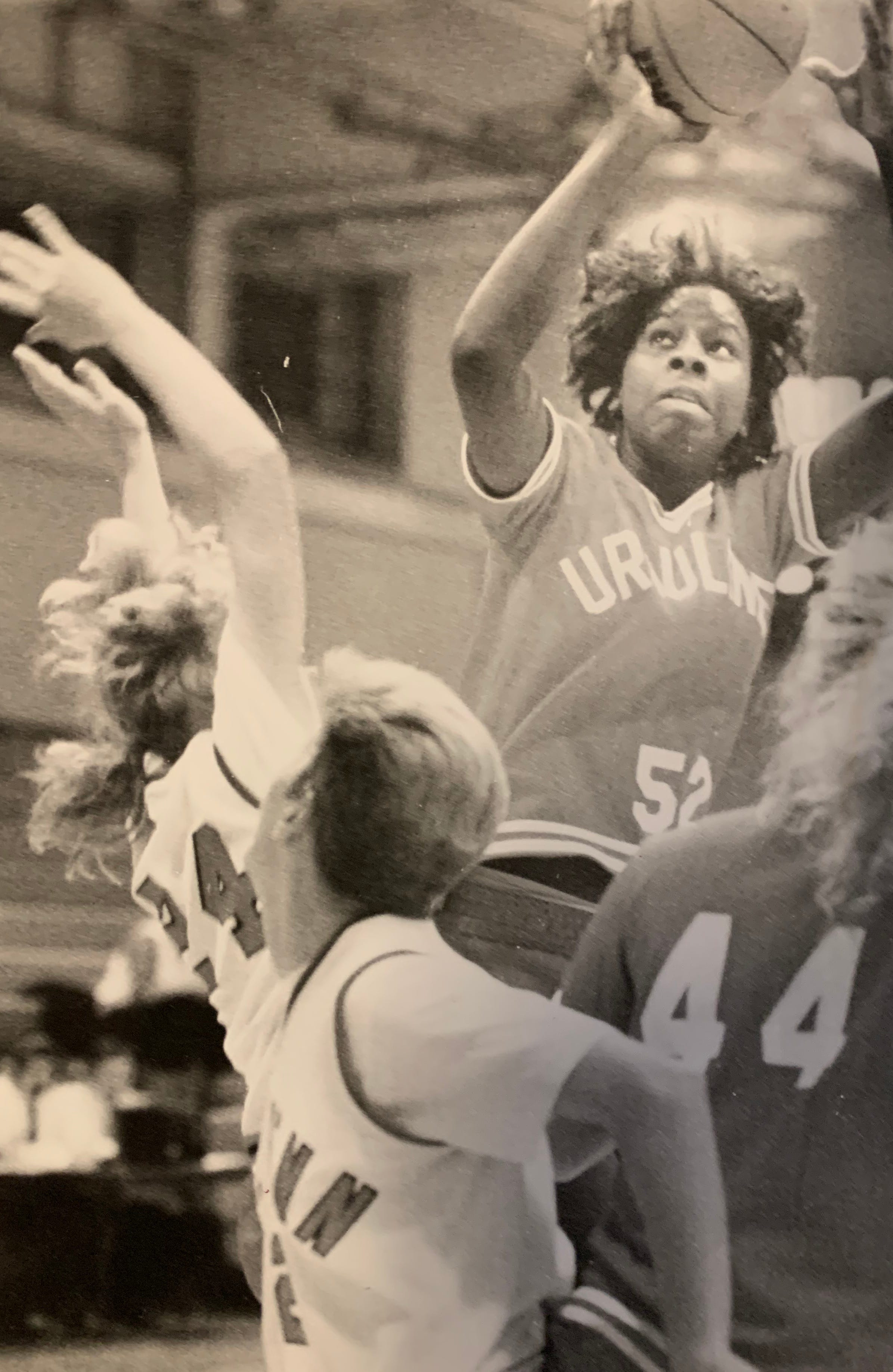 Val Whiting was three-time state player of the year and won three state titles at Ursuline.