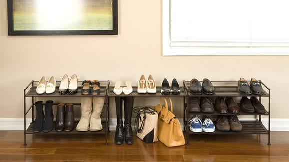 This shoe rack has more than 8,000 reviews, and now it's on sale.