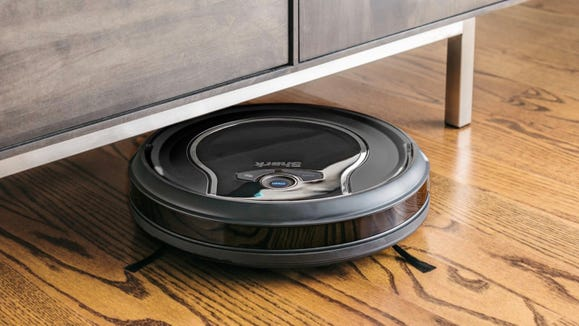Walmart shoppers say this smart robot vacuum is a Godsend for pet hair.