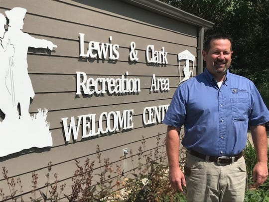 Shane Bertsch is district park supervisor at the Lewis and Clark Recreation Area near Yankton, South Dakota.
