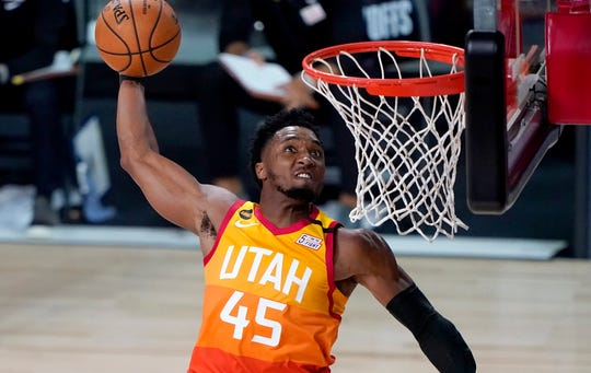 Donovan Mitchell has averaged 22.7 points per game in his three seasons in the NBA.