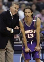 Mike D'Antoni, now the Rockets' head coach, coached Steve Nash in Phoenix.