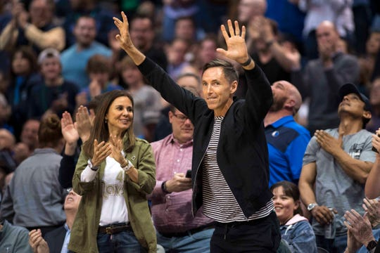Steve Nash was named the new coach of the Brooklyn Nets, a team that finished seventh in the East with Kevin Durant and Kyrie Irving missing time with injuries.
