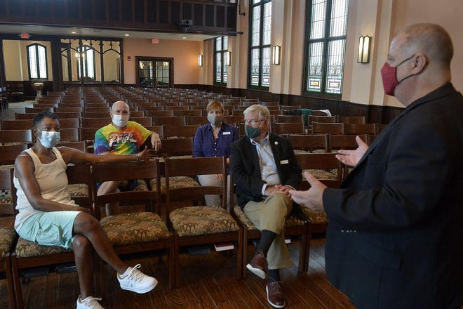 """Formerly Asbury Memorial United Methodist Church, the new Asbury Memorial Church will be non-denominational. Asbury has long been """"the Island of Misfit Toys,"""" as some congregation members have described it."""