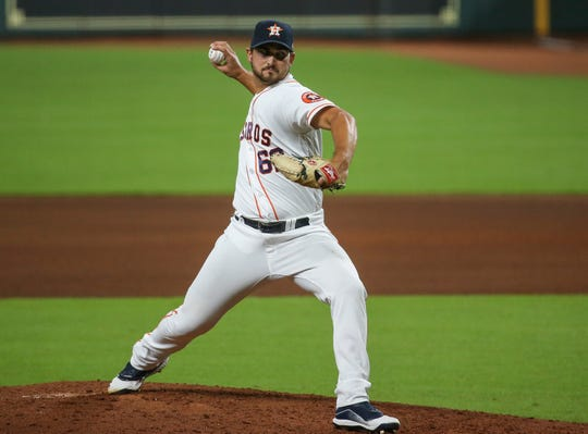 Chase De Jong signed with the Astros in August.