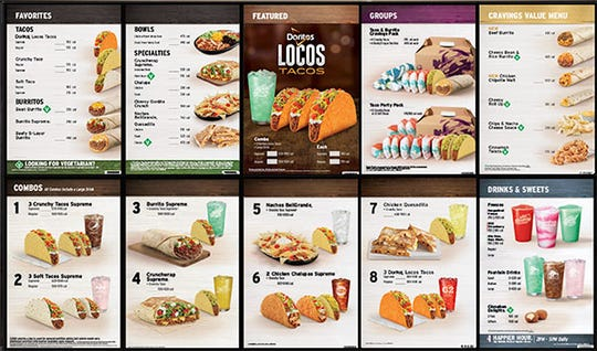 Taco Bell is changing its menu in November.